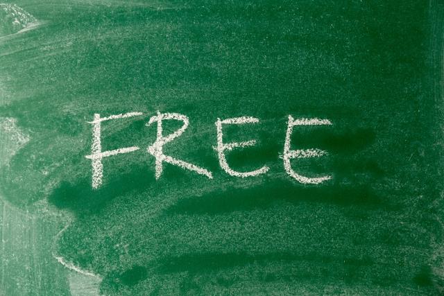 無料のイメージ