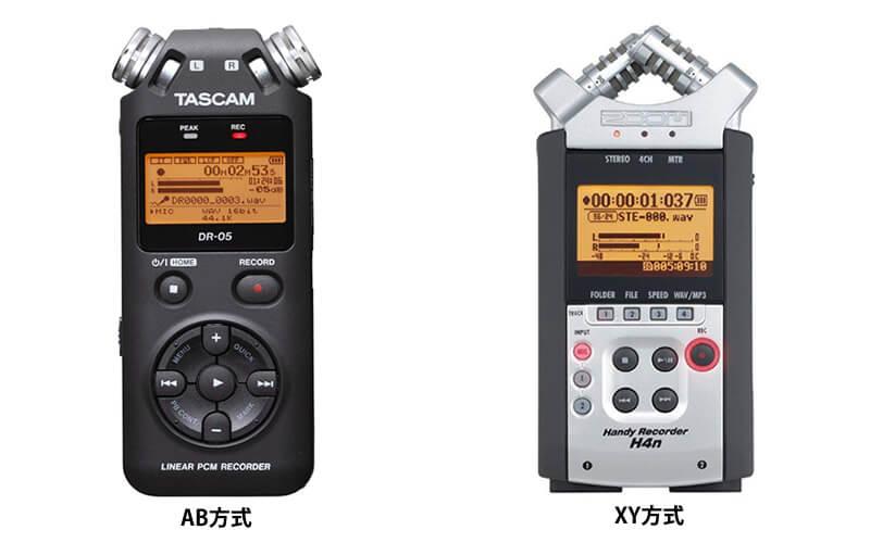 TASCAM DR-05とZOM H4